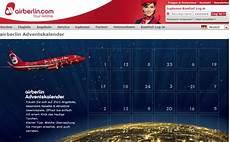 air berlin adventskalender 24 220 berraschungen im adventkalender air berlin