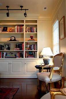 Built In Bookshelves For Living Room custom built in bookcase traditional living room