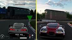 project cars 2 ps4 project cars 2 vs gran turismo sport beta ps4 pro graphics