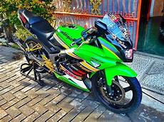 Modifikasi Kawasaki Rr by Modifikasi Motor Kawasaki 150 Rr