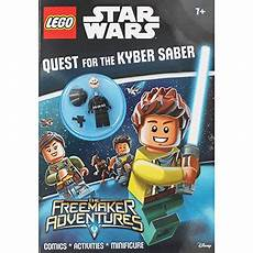 lego wars quest for the kyber saber activity book