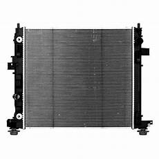Replace 174 Cadillac Ats 2013 2014 Engine Coolant Radiator