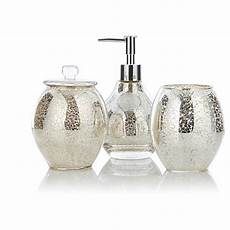 Bathroom Accessories Set Asda by George Home Accessories Mercury Glass Bathroom