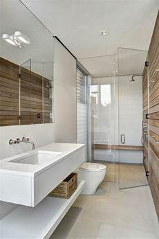 idee deco salle de bain nature salle d eau en bois et
