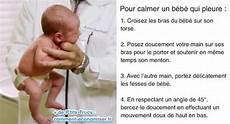 comment faire un bébé l astuce miracle d un p 233 diatre pour calmer un b 233 b 233 qui