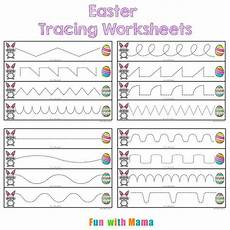 easter tracing worksheets for preschoolers tracing