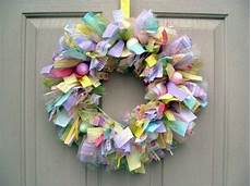 Osterkranz Basteln Anleitung - how to make a chic easter wreath itself interior design