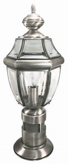 heath zenith heath zenith sl 4370 sa 1 light 360 degree motion activated decorative post ligh