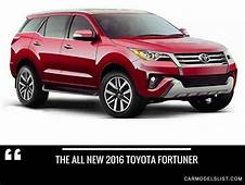 Latest Toyota All Models Price Specs And Release Date