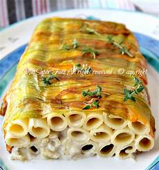 pasta fiori di zucca e alici pasta fiori di zucca e alici sformato di pasta