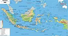 Peta Indonesia Hd Gambar Dan Nama Provinsinya Lengkap