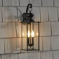 outside wall light lantern three posts amberley 2 light outdoor wall lantern