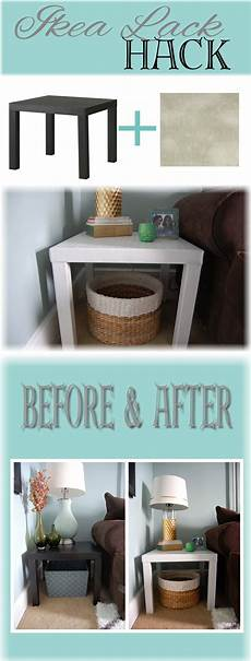 Ikea Lack Tisch Diy - ikea lack side table hack made2style