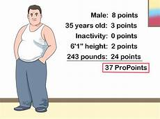 how to work out weight watchers pro points allowance 7 steps