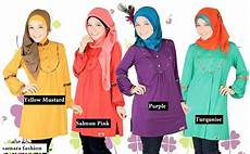 Model Terbaru Baju Muslim Cantik Untuk Remaja 2015 Trend