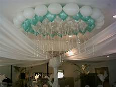 pearl mint green and white ceiling display photo007