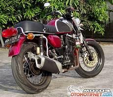250 Modif Cb by Modifikasi 250 Jadi Honda Cb Cepek Edan Akale Ono