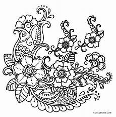 free printable flower coloring pages for cool2bkids