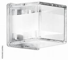 glass cube wall light frosted crystal glass cube wall lights contemporary wall lights by lighting