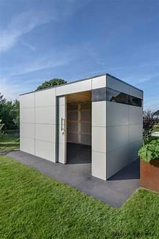 modernes gartenhaus selber bauen warum hpl das perfekte material f 252 r gartenh 228 user ist garten design gartenhaus gartenhaus