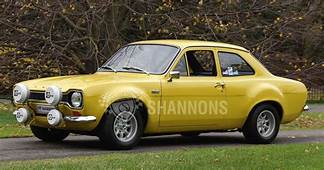 Ford Escort RS1600 Mk1 Coupe LHD Auctions  Lot 36