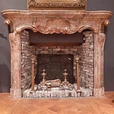 18jhdt italienische barock kamin marmorkamine antike