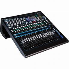 Allen Heath Qu 16 Digital Mixer Recorder Kit With Dust Cover