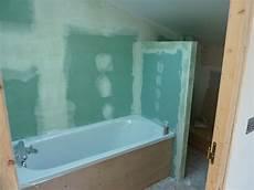 chambre plaque de placo pour salle bain faux plafond
