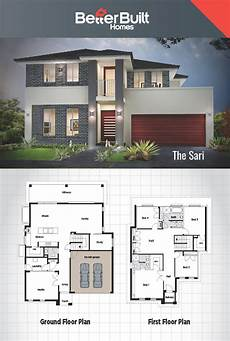 small double storey house plans the sari double storey house design 301 sq m 12 1m x 16