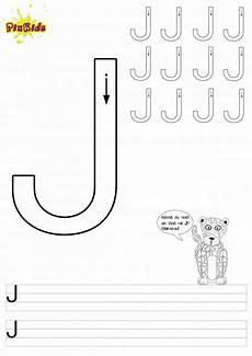 lustiges grundschule arbeitsblatt buchstabe j