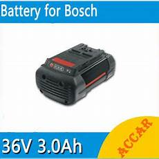 batterie bosch 36v 60731 battery for bosch 36v li ion 3 0ah heavyduty rotak 34 37 43 lawn mower d 70771au ebay