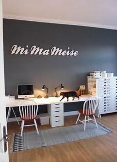 Wandfarbe Büro Ideen - grau als wandfarbe dezent und edel