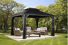 Alu Pavillon Mit Festem Dach - sojag 500 7156980 track no 77 messina top sun shelter
