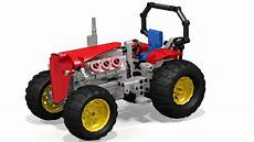 Lego Technic Build by How To Build The Lego Technic Tractor Ldd