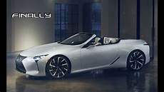 2020 lexus lc 500 convertible debut it s about time