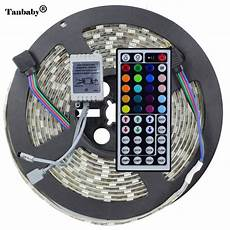 led strips 10 m 5050 rgb led strip light ip65 waterproof dc12v 5 meters