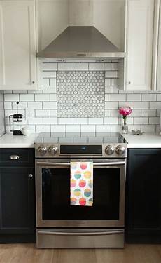 white ceiling fan subway kitchen backsplash ideas fall home room tour and blog hop two tone kitchen