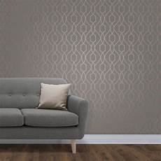 apex dark grey and copper trellis wallpaper by fine decor fd41998