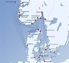 Fähre Kristiansand Hirtshals - truck ferry routes baltic sea bergen haugesund