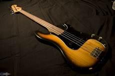 fender fretless precision bass fender precision bass fretless 1978 image 641055 audiofanzine