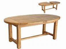 table ovale avec rallonge chene massif table extensible ovale quot maeva quot en ch 234 ne massif 50894