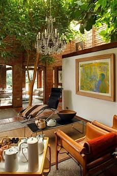 arbre interieur deco deco salon originale aux 233 l 233 ments verts 233 co design feria