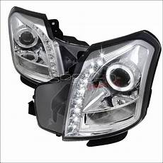 Cadillac Headlight Wiring by Cadillac Cts Spec D Halo Projector Headlights Chrome