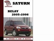 free online car repair manuals download 2005 saturn vue seat position control saturn relay 2005 2006 owners manual user manual pdf download tradebit