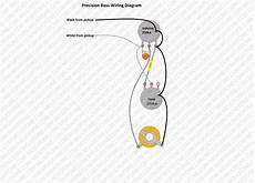 un assembled precision bass wiring kit