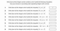 10 of the best algebra worksheets for ks3