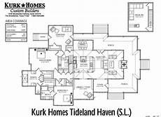 tideland haven house plan the tideland haven kurk homes
