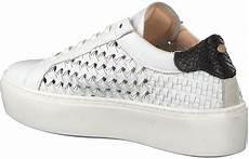 witte fred de la bretoniere sneakers 101010051 omoda nl