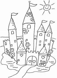Malvorlagen Prinzessin Schloss Gratis Ausmalbilder Schloss Free Ausmalbilder