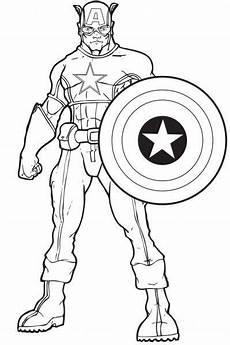 Ausmalbilder Superhelden Pdf Ausmalbilder Captain America Superhelden Malvorlagen